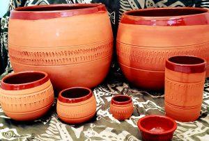tazze in terracotta